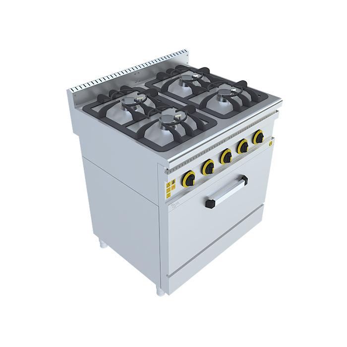 Gazlı Kuzine, Gas Rang Beka, Beka Mutfak, industrial, kitchen, industrial kitchene,