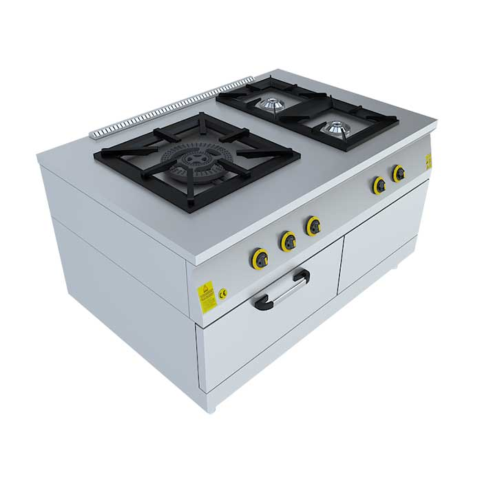 1x(60x60)+2x(40x40) KUZİNE, Beka, Beka Mutfak, industrial, kitchen, industrial kitchen