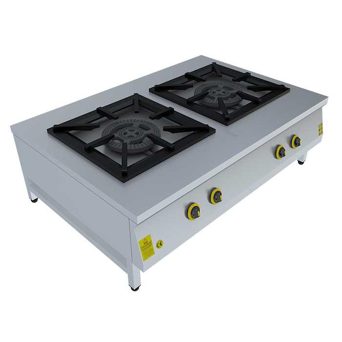 2x(60x60) GAZLI OCAK, STOVE, Beka, Beka Mutfak, industrial, kitchen, industrial kitchen